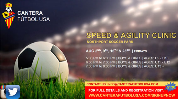 Cantera Speed & Agility Clinic