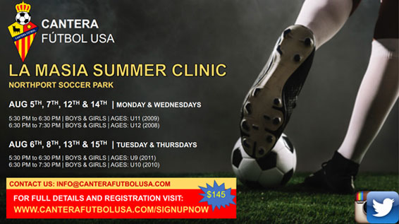 La Masia Summer Clinic